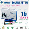 15W Solar Lighting System For Indoor