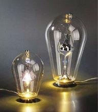 2014 Hot Sale Popular Classic Simple Creative Indoor Decorative Modern Glass Table Lamp Glass Light Model NO:SH01TBGL0174