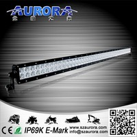 High quality 50'' 500w dual row offroad led light bar auto 12v led driving lights