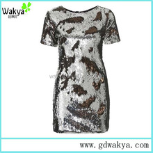 Charming Sexy Sequin Dress Short Women Dress