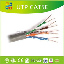 Made in China Ethernet Cable 4Pairs cat5e lan cable /indoor outdoor lan kabel utp cat5e cable