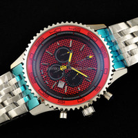 China factory custom high end watch with swis s eta 7750 movement