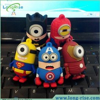 Wholesale Cheap Cute Cartoon Character USB Flash Drive 8GB for Promotional Gift