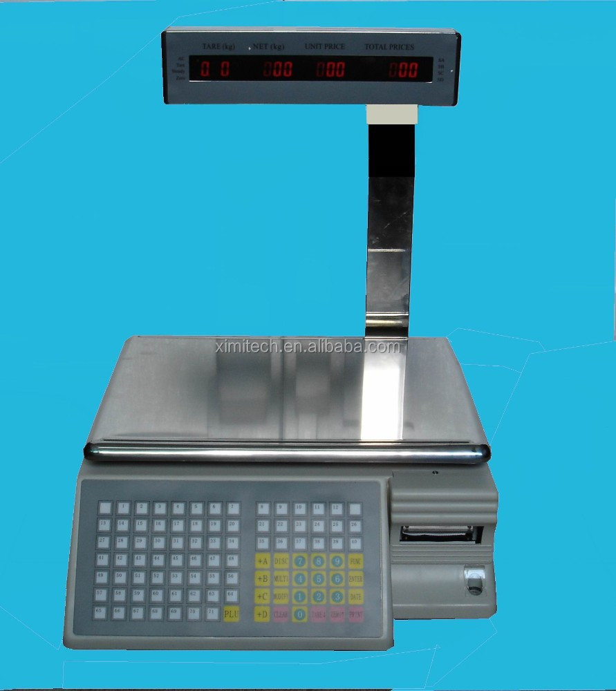 Tm-aa6a Barcode Weight Scale Barcode Scale With Printer