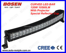 new 120w curved led light bar for Bus,Off-road vehicles,Trucks,Fire Engines