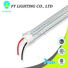 UL cUL DLC certificates 120lm/w 100~277V shape cooler door led light for 1800mm 26W factory in china