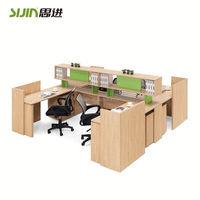 Modern melamine partition plastic parts,cubicle workstation and office workstation modular