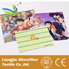 2015 hot selling customized promotional microfiber lens cleaning cloth with digital print