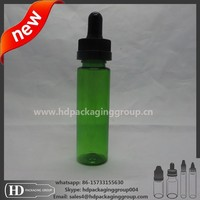 HD 30ml e liquid plastic unicorn bottles sharp glass pipette