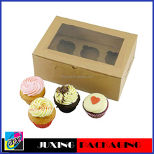 recyclable clear rigid cupcake packaging