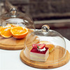 enviromental health quality assurance acrylic dome cake cover
