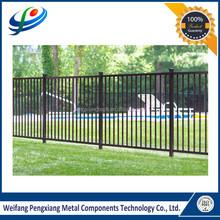 Australia Powder Coated Flat Top Aluminium Pool Fence Slat Fencing