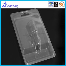 clear plastic slide blister or elecronics and toys outer package ,flang folded blister