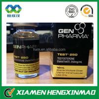 Cheap custom design laser 20ml vials labels for Testosterone