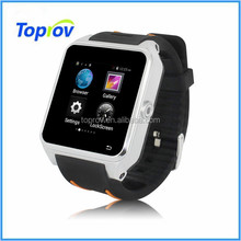 2015 newest cheap waterproof android 3g smart watch phone with dual-core cpu