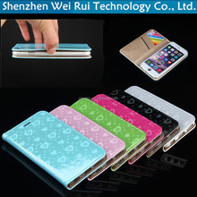 hot sale for iphone 6s case transparent tpu cover cell phone case for APPLE 6s 4.7 inch fashion heart protective sleeve