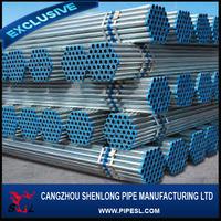 Steel tube gals/pre-galvanized steel pipe cost