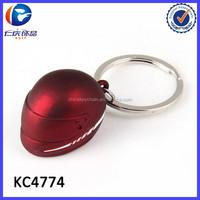Promotional items creative motorcycle helmet keychain