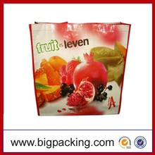 Most Popular Products In China PP Woven Bag For Fruit/Vegetable Recyled PP Woven Shopping Bag With Fruit Pattern
