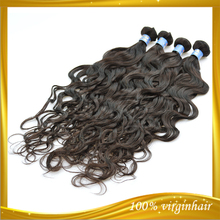 Virgin cuticle natural color unprocessed cheap malaysian remy romance curl human hair
