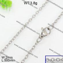 Gorgeous simple design led flash necklace