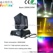 new design 230w sharpy 7r beam moving head light with cheap price