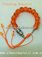 Halloween party pumpkin led light up bracelet