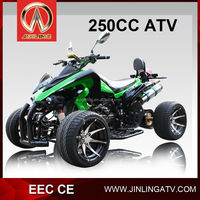 2015 Hot Sell Loncin Engine 250cc EEC Street Racing Quad For Sale