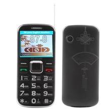 Dual SIM Elders Elederly Mobile Phone old man phone with Big Loudspeaker,FM radio and Camera