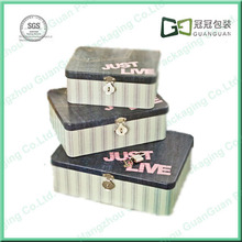 Mould Existing Recyclable Feature Recyclable Perfume Tin Box/Small Metal Tin Boxes