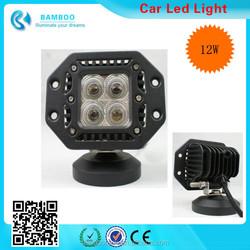 12W 9-30V 840 Lumen LED Spotlight Lamp Work Light for Working / Driving / Fog, Off Road Spotlight-, Boat