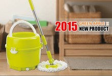 2015 new products as seen tv 360 one small bucket spin magic mop