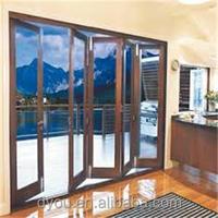 High quality well design aluminum bathroom folding door