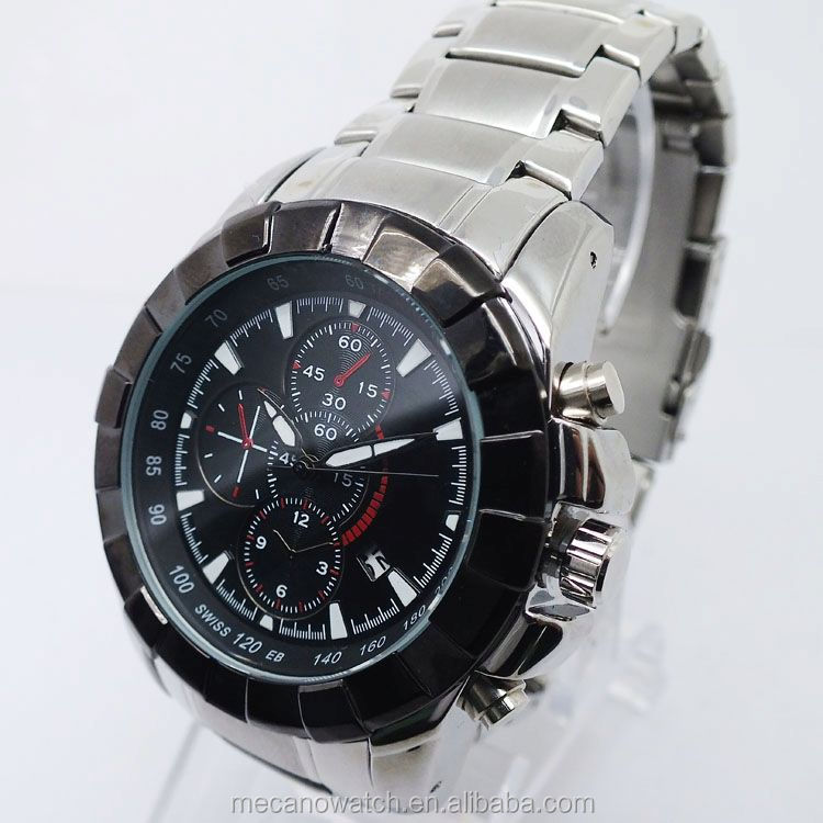 high quality fashion wristwatch stainless steel watches