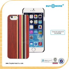 China Golden Supplier Wholesale OEM ODM Unique Design Eco-friendly Natural Wood Bamboo for Apple iPhone 6 Case