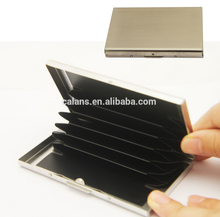 High quality metal name card case / name card holder /business card holder
