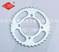 Motorcycle chain and sprocket kit for VEGA-R-NEW