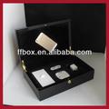 Topo da classe de luxo preto piano lacquer finish madeira Iphone 6 caixa