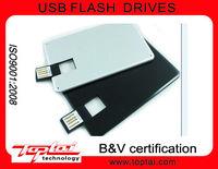 8G Super Slim Metal Card Multicolors Encryption Colorful Printing Logo Credit Card USB Flash Drive