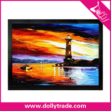 Beautiful Lighthouse Pictures Natural Beauty Oil Painting