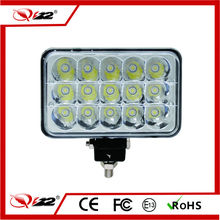 Pretty competitive price Epistar rectangle 7inch 45w off road led work light
