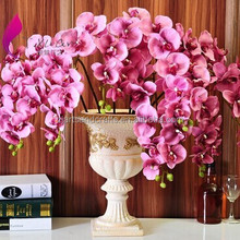 Fashion beautiful dress fabric cheap artificial flower wholesale