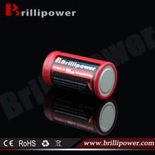 Brillipower high energy density 3.7v 18350 900mah li-ion rechargeable battery/smoking mod 18350 battery