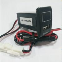 USB +volmeter for toyota and madza