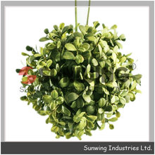 artificial boxwood topiary grass ball plant boxwood ball