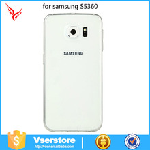 hot sale universal super thin tpu cover case for samsung galaxy y s5360 factory wholesale