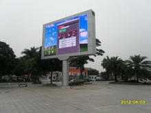 High quality waterproof TV outside led screen outdoor advertising p10 led display