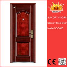 High quality stainless hotel fire rated steel door SC-S016