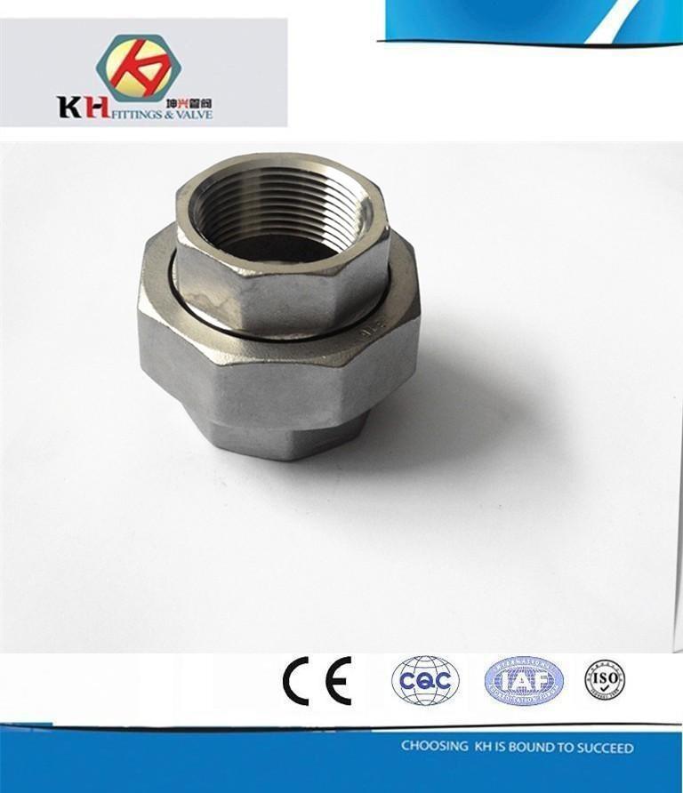 Stainless steel casting pipe fittings bspt bsp din npt