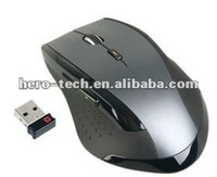 6D 2.4G wireless optical gaming mouse